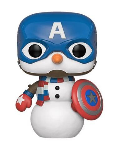 Marvel Holiday Funko Pop! Vinylfigur Captain America