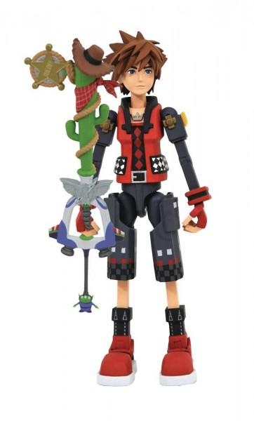 Kingdom Hearts 3 Select Actionfigur Valor Form Toy Story Sora