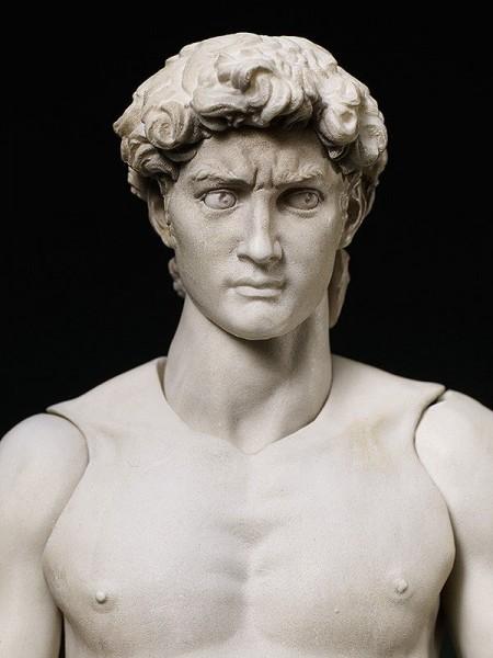 Table Museum Figma Actionfigur Davide di Michelangelo