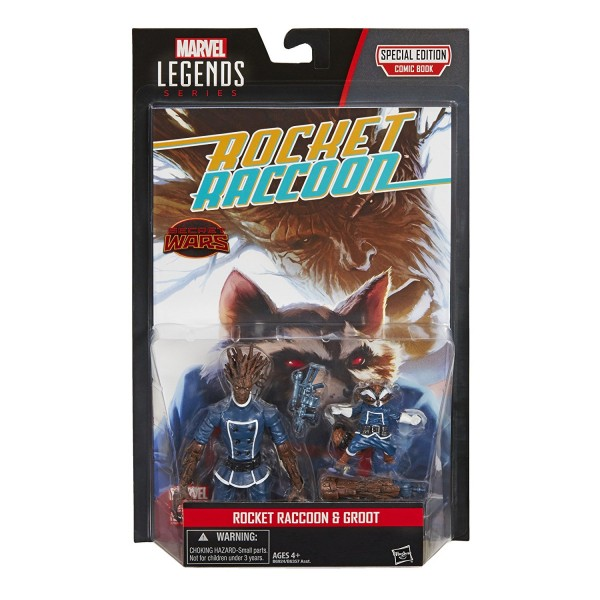 Marvel Legends Guardians of the Galaxy Actionfiguren 2-Pack Groot & Rocket Raccoon (Comic Version)