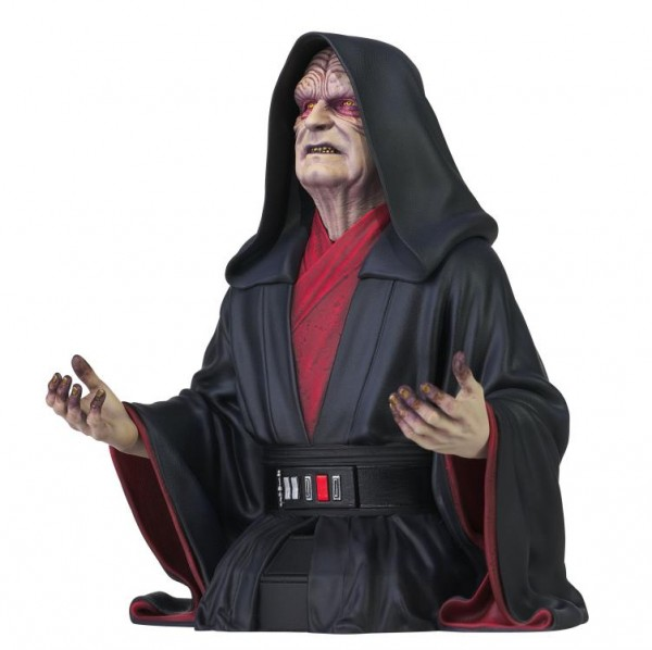Star Wars Rise of Skywalker Büste 1/6 Emperor Palpatine