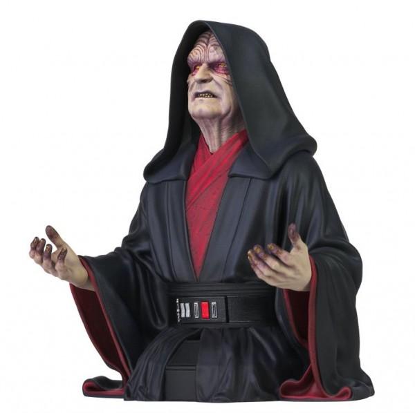 Star Wars Rise of Skywalker Büste 1/6 Emperor Palpatine