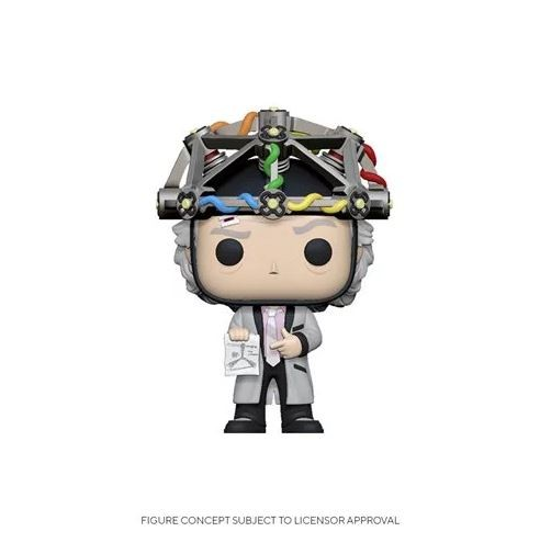 Back to the Future Funko Pop! Vinylfigur Doc Brown (with Helmet)