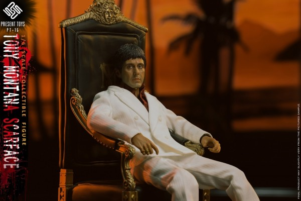 Present Toys 1/6 Actionfigur Scarface