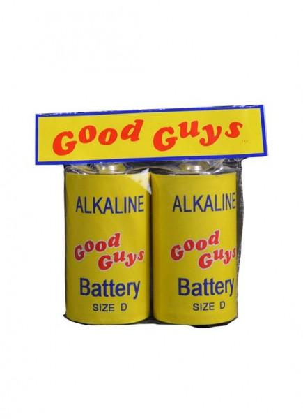 Chucky 2 Replik 1/1 Good Guys Batterien