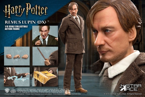 Harry Potter My Favourite Movie Actionfigur 1/6 Remus Lupin (Deluxe Version)