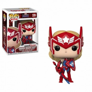 Marvel Future Fight Funko Pop! Vinylfigur Sharon Rogers 335