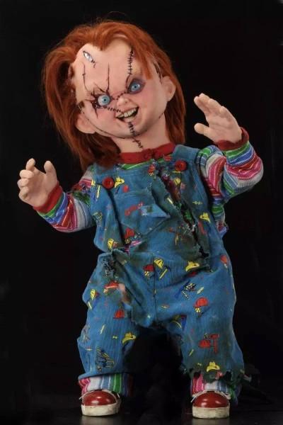 Chucky und seine Braut Prop Replik 1/1 Puppe Chucky