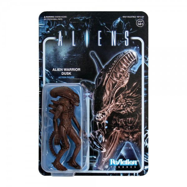 Aliens ReAction Actionfigur Alien Warrior Dusk Brown