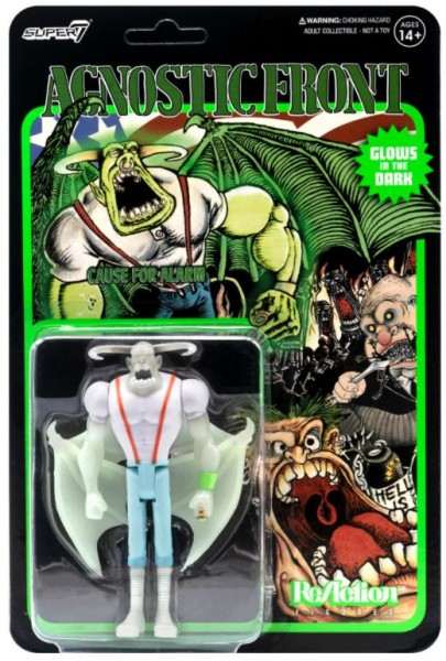 Agnostic Front ReAction Actionfigur Eliminator (Glow in the Dark)