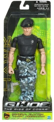 "G.I. Joe The Rise of Cobra Actionfigur 30 cm General Clayton ""Hawk"" Abernathy"