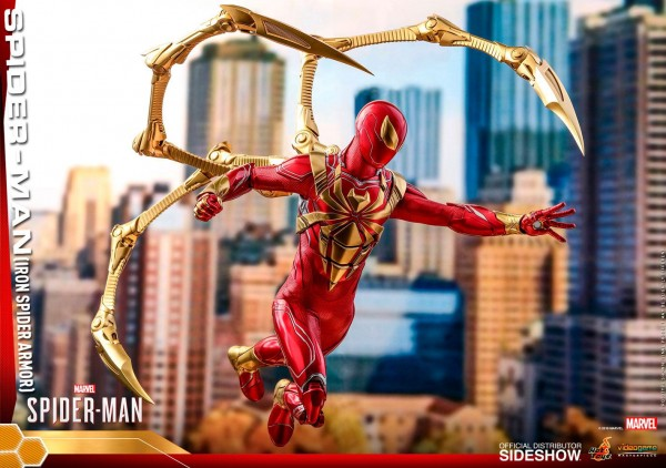 Spider-Man Video Game Masterpiece Actionfigur 1/6 Spider-Man (Iron Spider Armor)