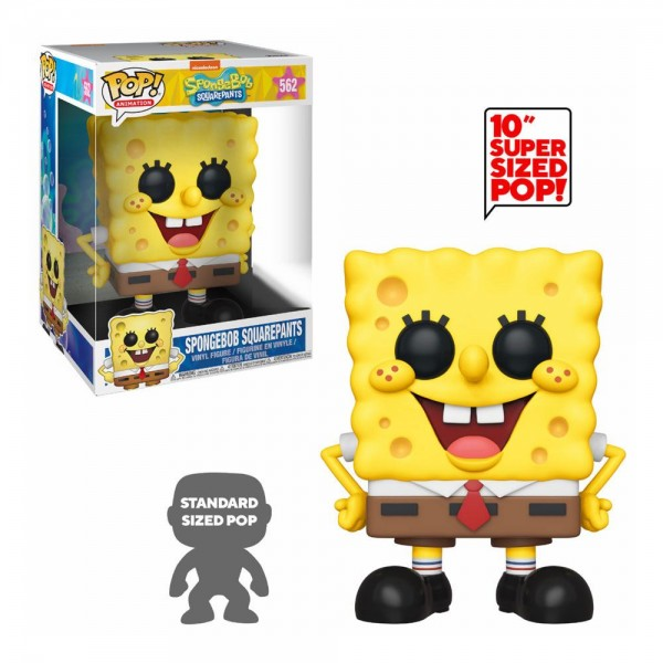SpongeBob Funko Pop! Vinylfigur SpongeBob (Supersized) Exclusive