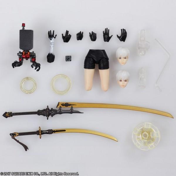 NieR Automata Bring Arts Actionfigur 9S (YoRHa No. 9 Type S)