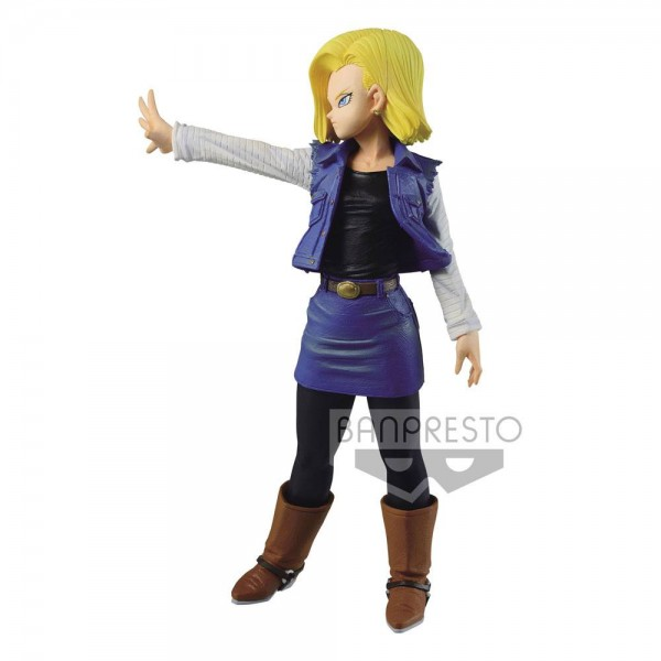 Dragonball Z Match Makers Statue Android 18