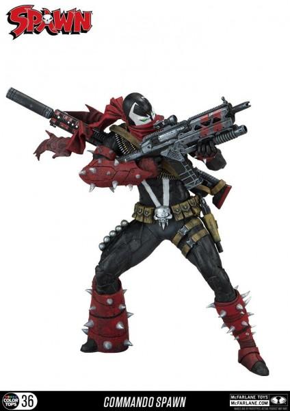 Spawn Color Tops Actionfigur Commando Spawn