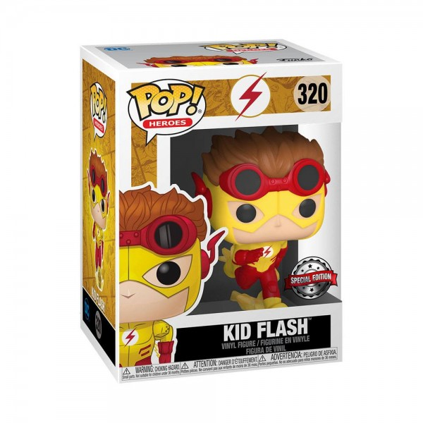 DC Funko Pop! Vinylfigur Kid Flash 320 Exclusive