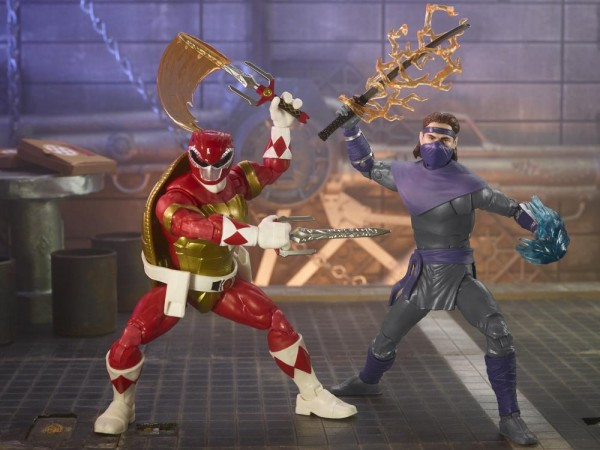 Power Rangers x Turtles Lightning Collection Actionfiguren 15 cm Foot Soldier Tommy & Morphed Raphae