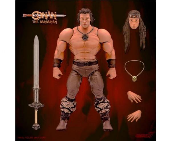 Conan der Barbar Ultimates Actionfigur Conan (Iconic Movie Pose)