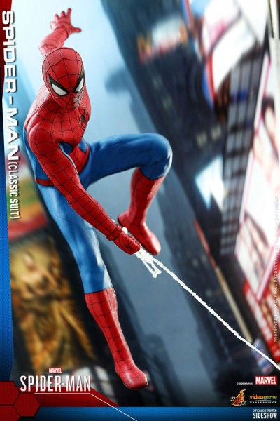 Spider-Man Video Game Masterpiece Actionfigur 1/6 Spider-Man (Classic Suit)
