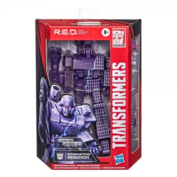 Transformers R.E.D. Actionfigur Reformatting Megatron (The Transformers: The Movie)