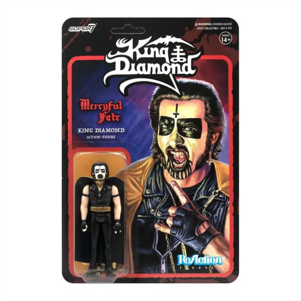 King Diamond ReAction Actionfigur King Diamond (First Tour)