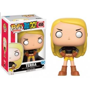Teen Titans Go! Funko Pop! Vinylfigur Terra 455 Exclusive