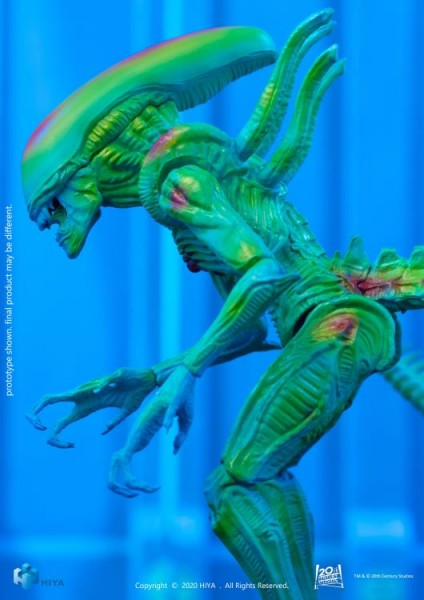 Alien vs. Predator Actionfigur 1/18 Alien Warrior (Thermal Vision) Exclusive