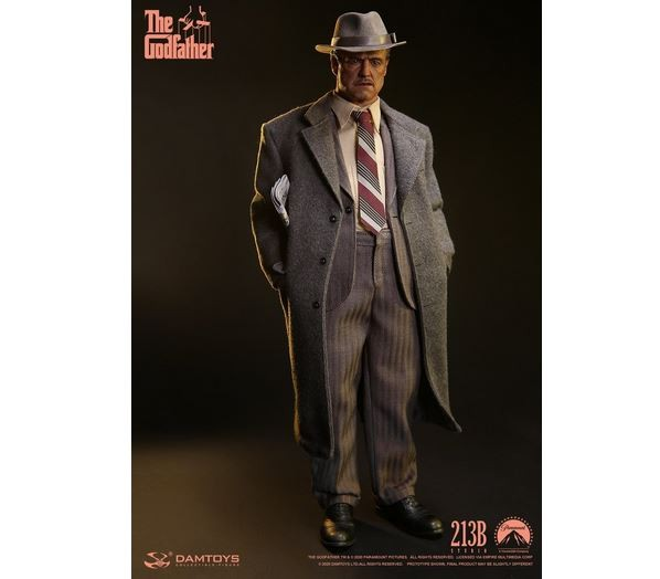DAMTOYS Der Pate / The Godfather Actionfigur 1/6 Vito Corleone (Golden Years)