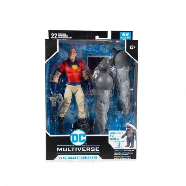 DC Multiverse Build A Actionfigur Peacemaker Unmasked (Suicide Squad)