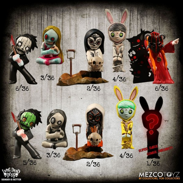 Living Dead Dolls Sammelfiguren Resurrection Serie 1