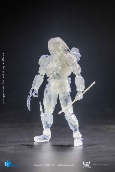 Alien vs. Predator Exquisite Mini Actionfigur 1/18 Invisible Celtic Predator