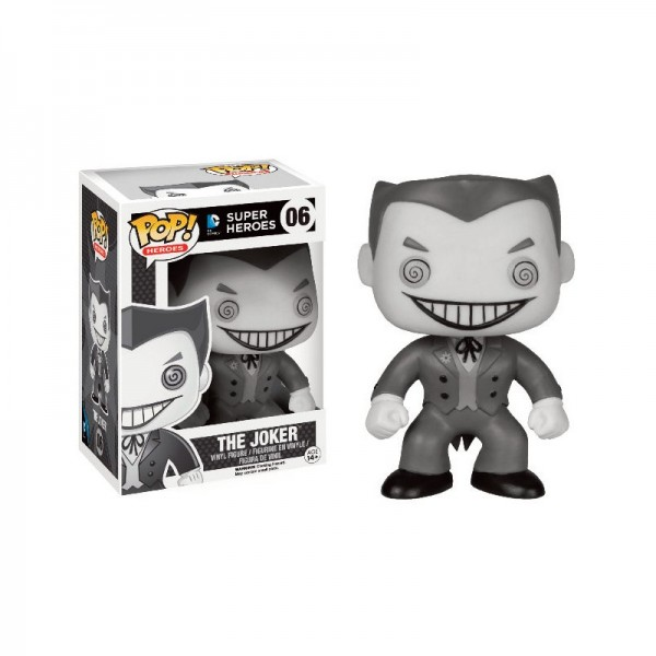 Batman Funko Pop! Vinylfigur Joker (B&W Series) 06 Exclusive