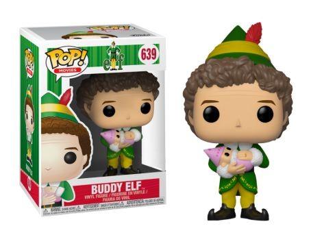 Elf Funko Pop! Vinylfigur Buddy Elf (with Baby) 639 Exclusive