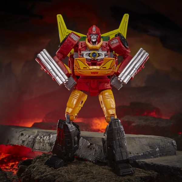 Transformers Generations War For Cybertron KINGDOM Commander Rodimus Prime