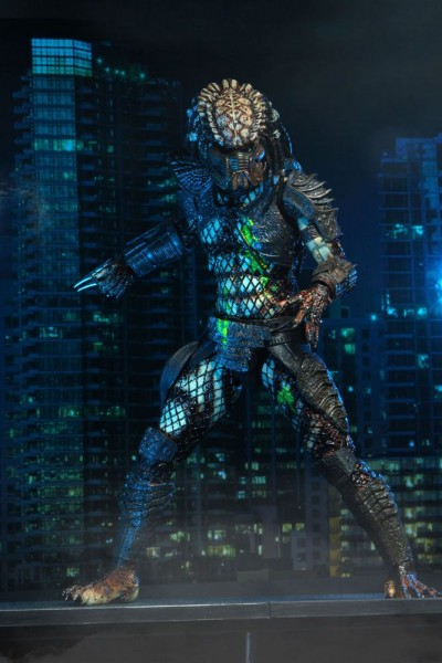 Predator 2 Actionfigur Ultimate Battle-Damaged City Hunter