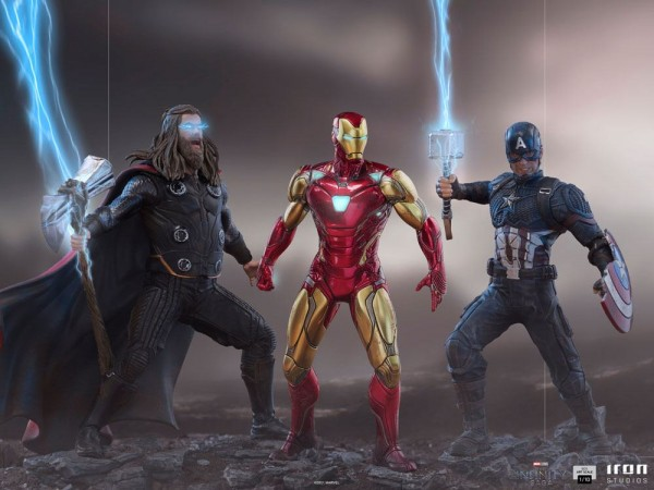 Marvel Infinity Saga BDS Art Scale Statue 1/10 Captain America (Ultimate)