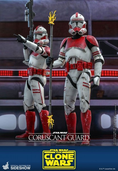 Star Wars Clone Wars Television Masterpiece Actionfigur 1/6 Coruscant Guard