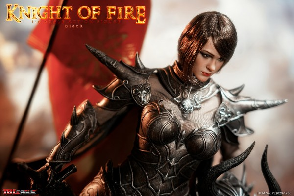 Phicen / TBLeague 1/6 Actionfigur Knight of Fire (Black)