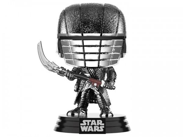 Star Wars Rise of Skywalker Funko Pop! Vinylfigur Knight of Ren (with Scythe) Hematite Chrome