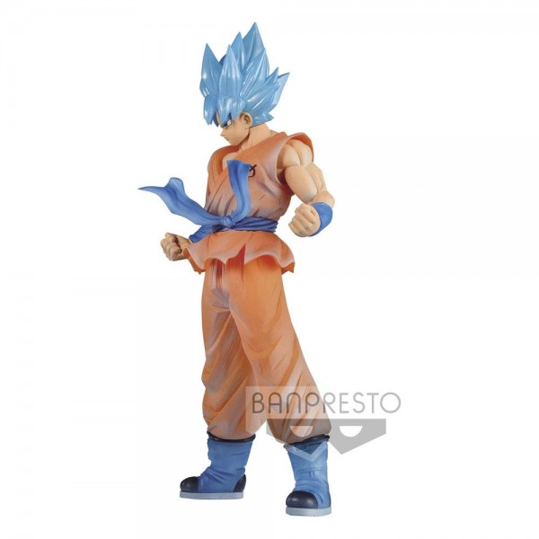 Dragonball Super Clearise Statue Super Saiyan God Super Saiyan Son Goku