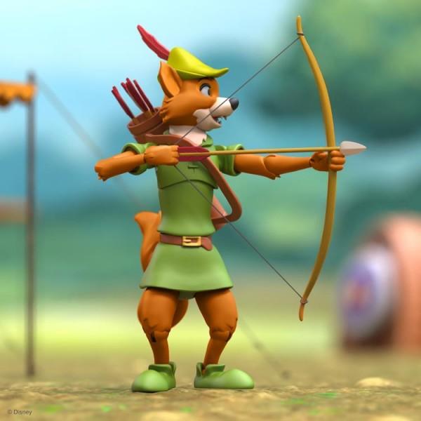 Disney Ultimates Actionfigur Robin Hood mit Stork