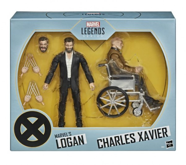 X-Men Movie 2000 Marvel Legends Actionfiguren Logan & Charles Xavier (2-Pack) SDCC 2020