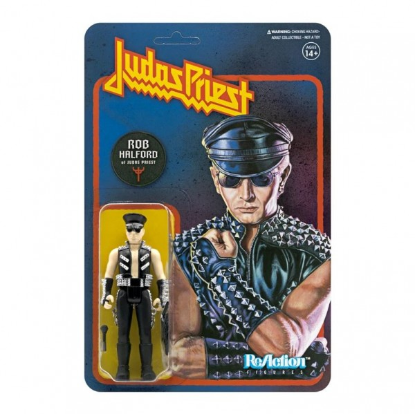 Judas Priest ReAction Actionfigur Rob Halford