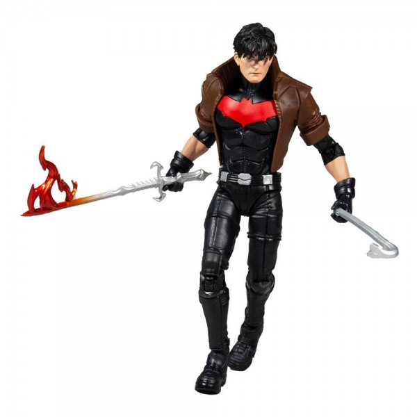 DC Multiverse Actionfigur Unmasked Red Hood (DC New 52) Gold Label Series