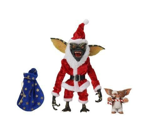 Gremlins Actionfiguren Santa Stripe & Gizmo (2-Pack)