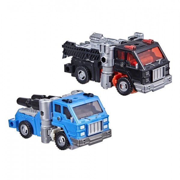Transformers Generations War For Cybertron Golden Disk Collection Chapter 1 Road Ranger & Puffer (2-