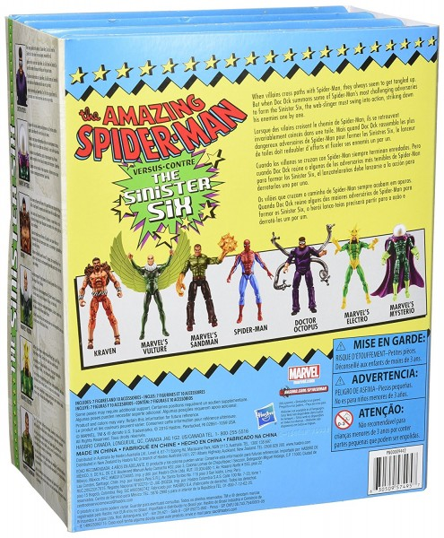 Marvel Legends Amazing Spider-Man vs. Sinister Six Actionfiguren 7-Pack
