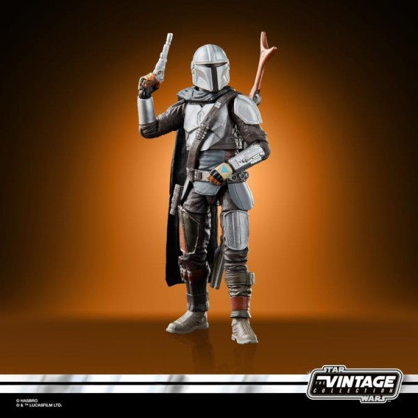 Star Wars Vintage Collection Actionfigur 10 cm The Mandalorian (Beskar Armor)