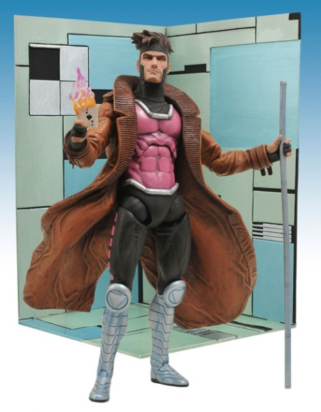 Marvel Select Actionfigur Gambit